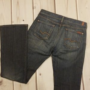 7FAM Bootcut Jeans Size 30